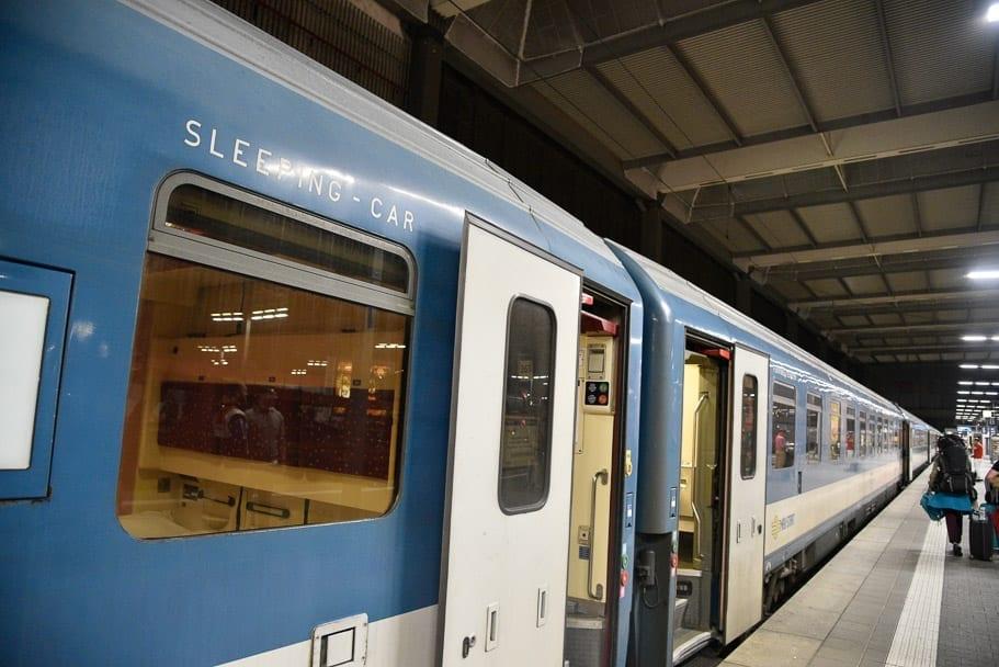 munich-budapest-train-sleeper-carriage