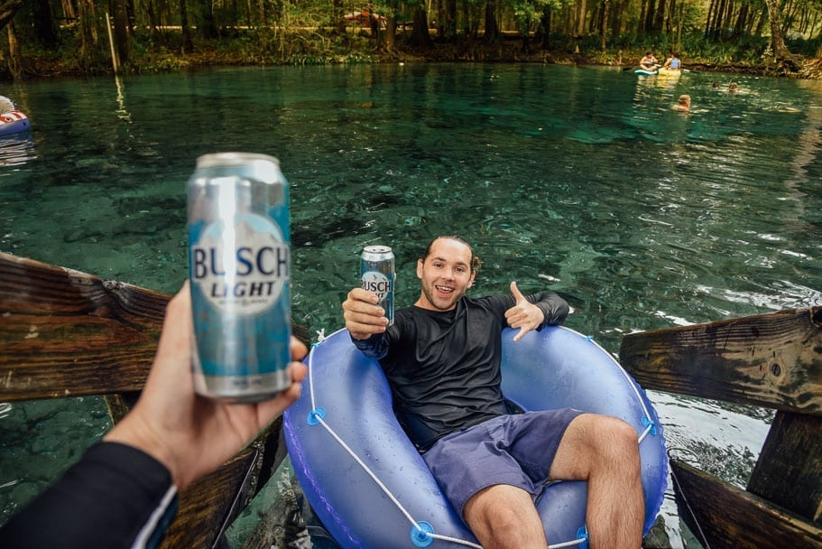 Ginnie Springs Florida Tubing  – One of the ONLY alcohol friendly Springs!