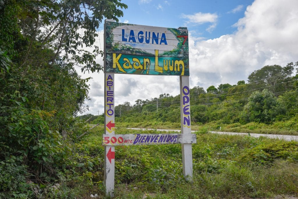 Laguna-Kaan-Luum-Tulum-entry-sign