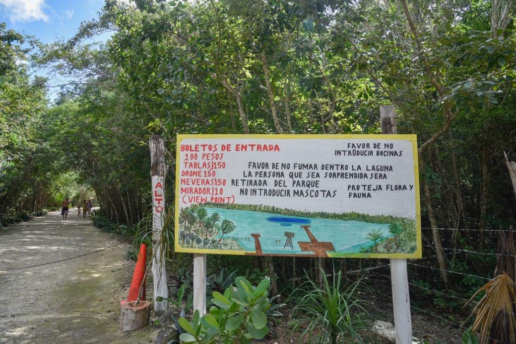 Laguna-Kaan-Luum-Tulum-sign