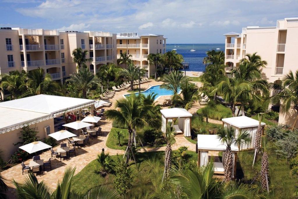 romantic-hotels-in-key-west-Key West Marriott-Beachside-Hotel